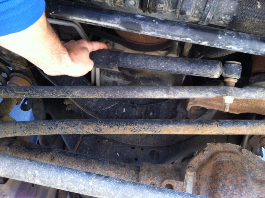 Steering Stabilizers? - Ford Powerstroke Diesel Forum