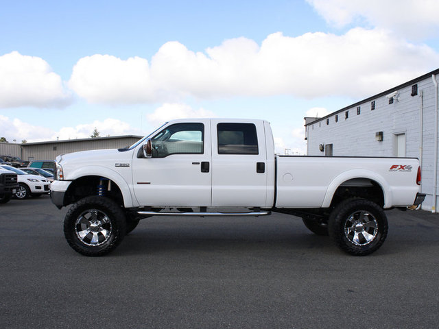 White Wheels on White Truck White Truck Black Wheels