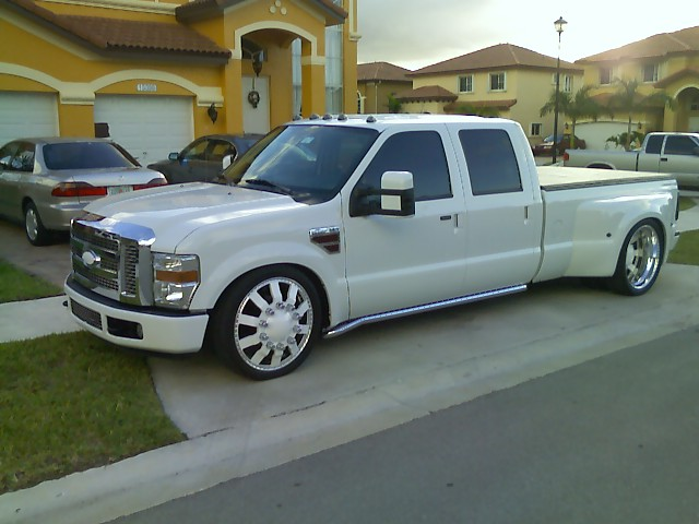 Ford Dually Trucks