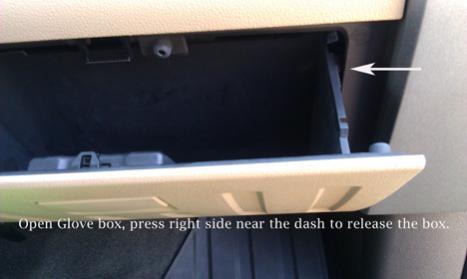 Installing a 2nd USB Port-1-glovebox.jpg
