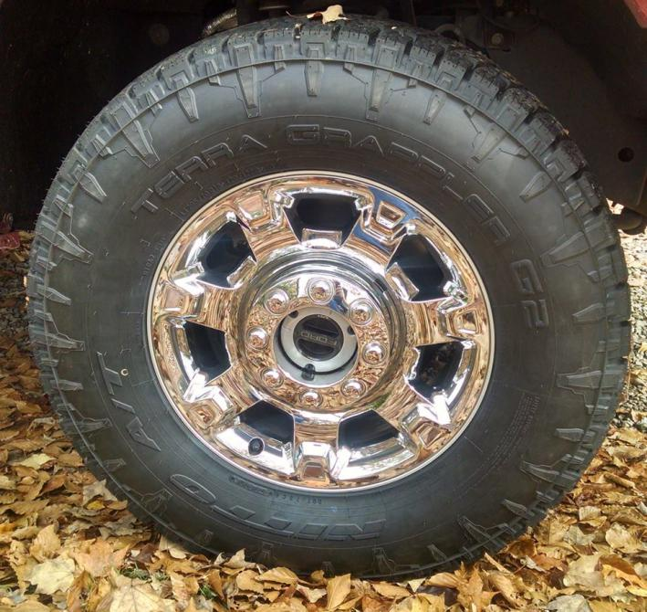 Ford Excursion 2015 >> 305/70/18 on stock suspension? - Ford Powerstroke Diesel Forum