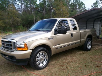 Ford Panama City >> guys have any pics of lowered or stock hight F250 on some ...