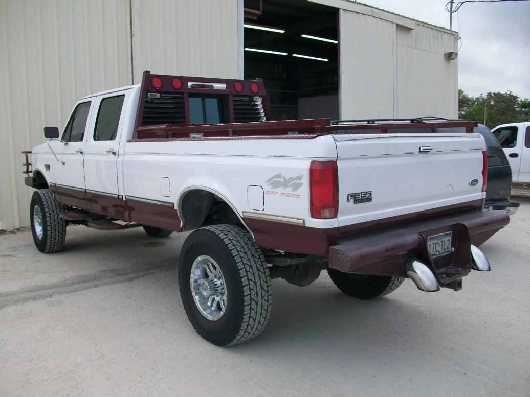 D Pictures Obs Tires on Duramax Diesel Rear End