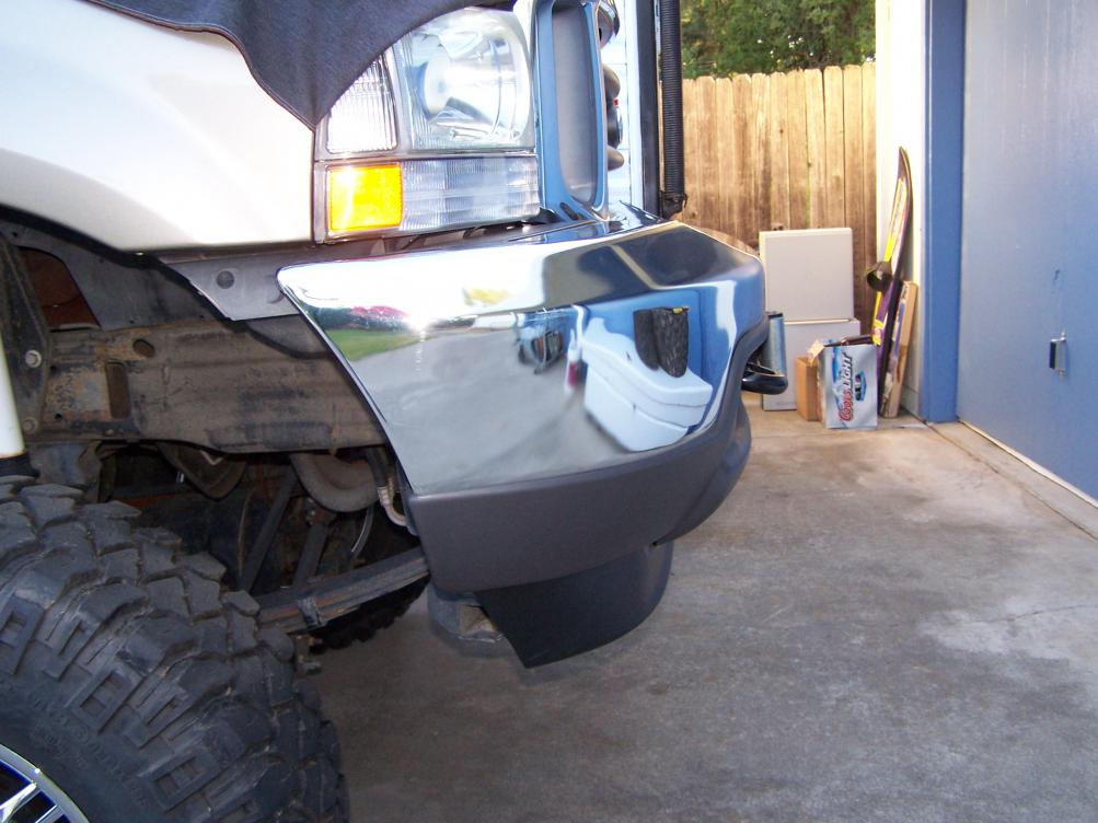 Want to mount a winch in stock bumper - Ford Powerstroke ...