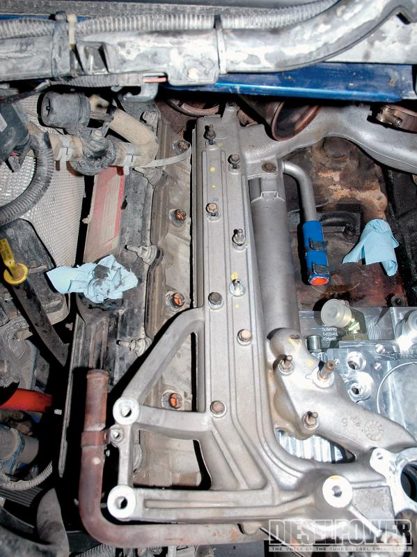 D Coolant Pouring Out F Dp O Dp Ford Power Stroke Problem Solvers Bpd Replacement Egr Cooler Installed on Ford 4 6 Engine Problems