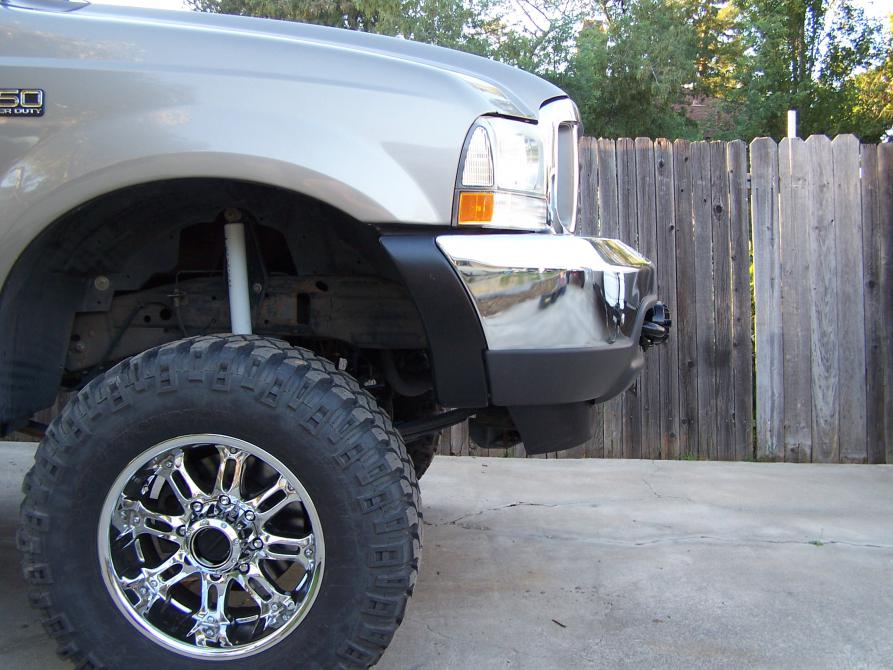 D Want Mount Winch Stock Bumper on 05 Ford 6 0 Powerstroke Starter Location