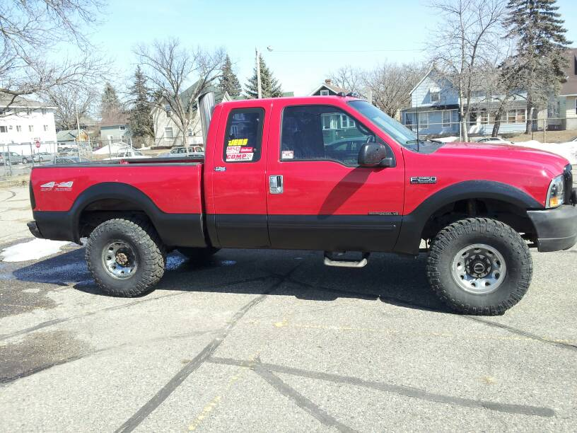Can I run 33x12.5x16's on a leveling kit? PIC if possible.-1366947323156.jpg