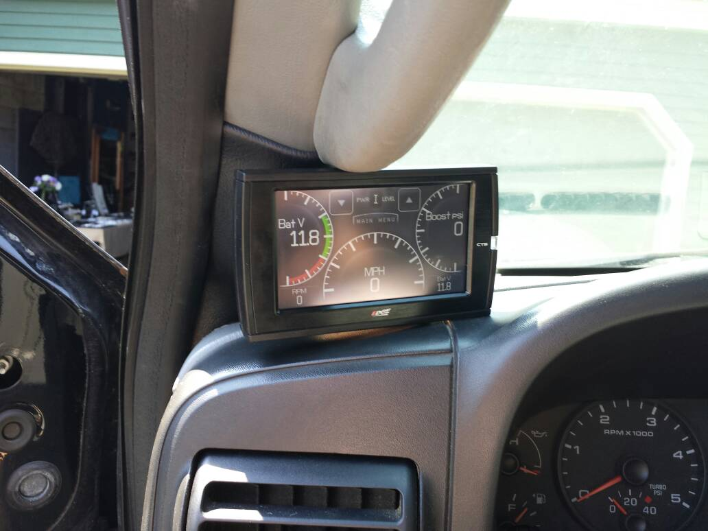 Edge Cts 2 >> CTS Pillar Mount Installed - Ford Powerstroke Diesel Forum