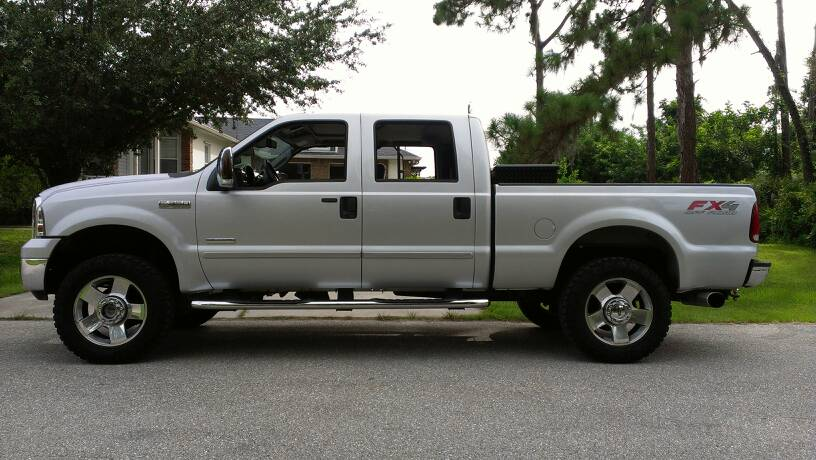 """Ford Super Duty >> F250 2"""" leveling a kit and 33-35"""" tire pics wanted!! - Ford Powerstroke Diesel Forum"""