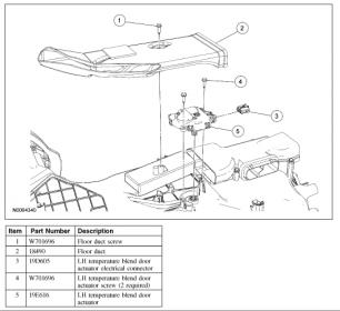 driver side blend door motor - page 2 - ford powerstroke ... f250 5 4 gas vent diagram 2001 f150 5 4 engine ignition diagram