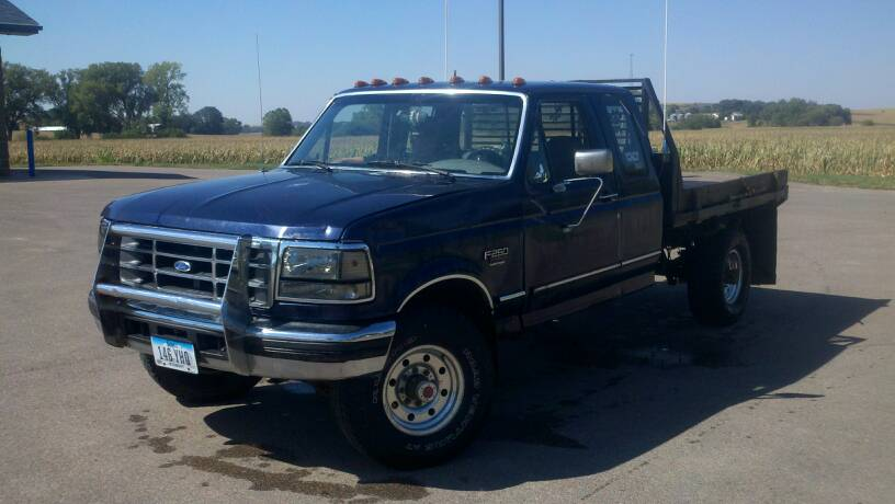 Ford F250 With Flatbed >> Show me your OBS flatbeds - Ford Powerstroke Diesel Forum