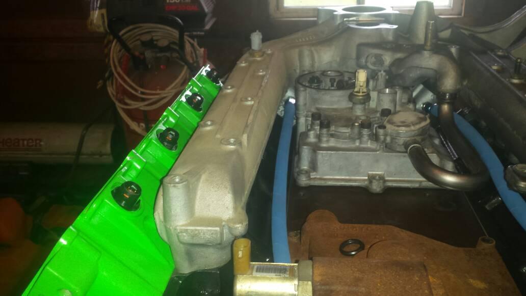 Finally putting engine together.-1403138515540.jpg