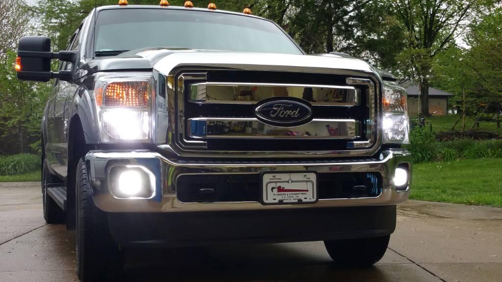 Led Headlights Fog Lights Ford Powerstroke Diesel Forum