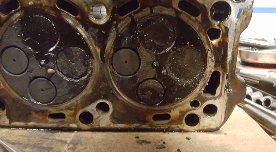 Arp Head Studs 6.0 >> Carbon Build Up on pistons and valves. - Ford Powerstroke Diesel Forum