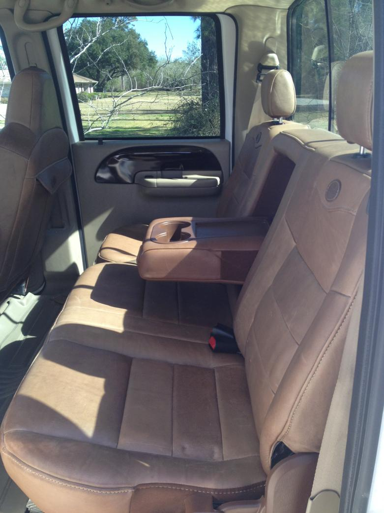 Dyed King Ranch Seats Ford Powerstroke Diesel Forum 2004 F 150 232013 190