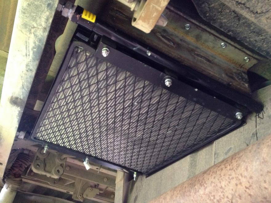 Heavy Duty Trans Cooler Install Ford Powerstroke Diesel