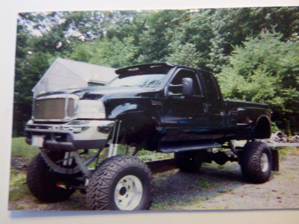 Lifted Ford Dually