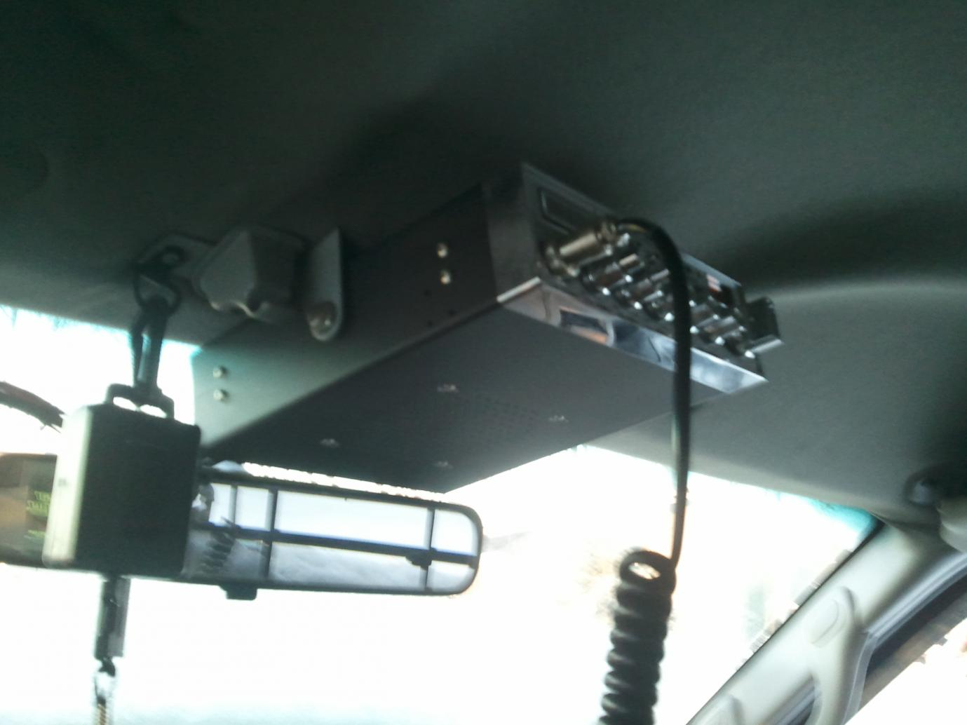 CB Radio Mount - Ford Powerstroke Diesel Forum