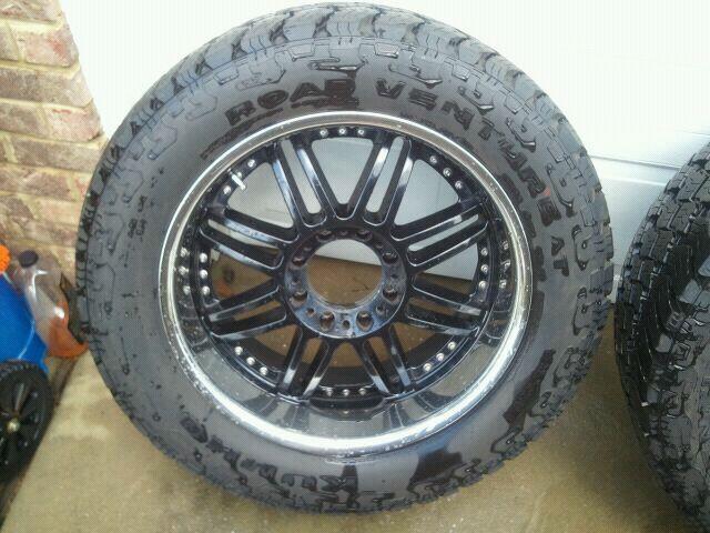 "Ford Powerstroke For Sale >> FS: 22"" rims on 35"" new tires! $1950 - Ford Powerstroke Diesel Forum"