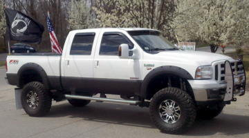 flag mounts for the bed!? - ford powerstroke diesel forum
