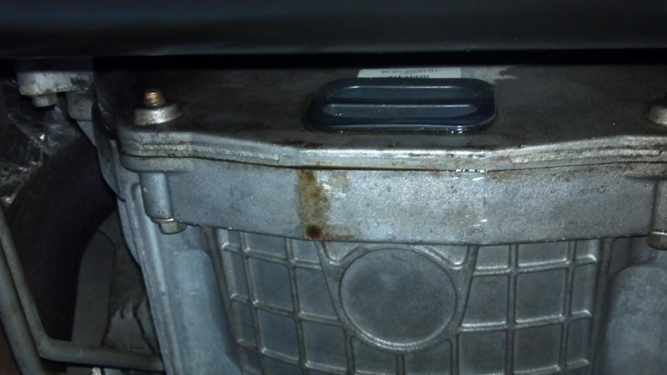 6 7 Powerstroke Problems >> is this the infamous bedplate leake? - Ford Powerstroke Diesel Forum