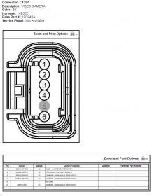2008 ford f250 backup camera wiring diagram