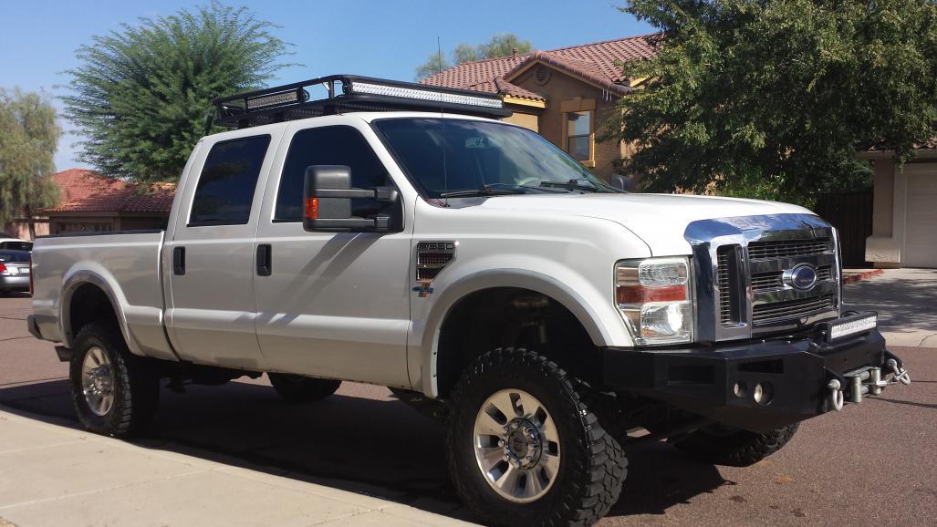 New Roof Rack Ford Powerstroke Diesel Forum