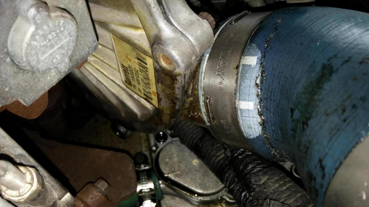 Ford 6 7 Problems >> oil leak under turbo - Ford Powerstroke Diesel Forum