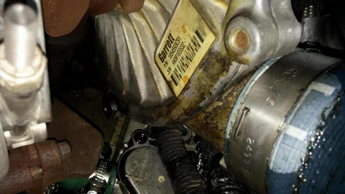 Ford Oil Change >> oil leak under turbo - Ford Powerstroke Diesel Forum