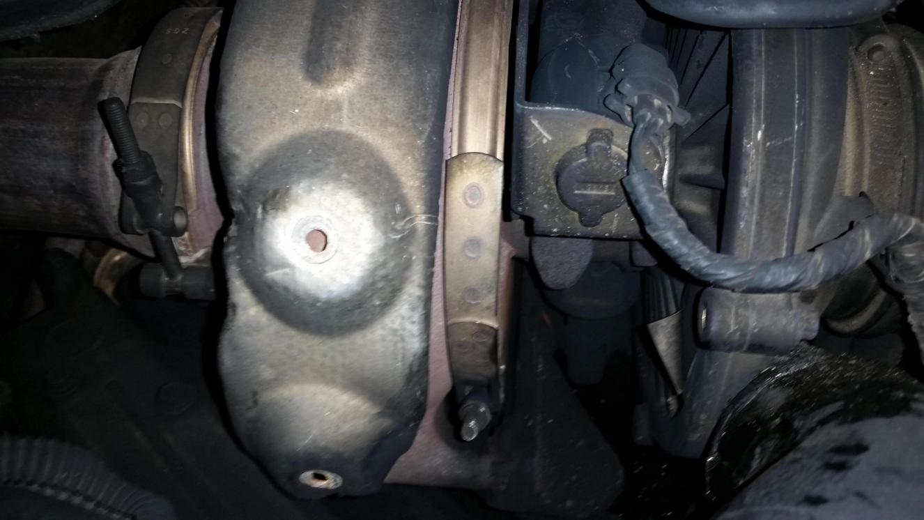 Ford 6.0 Problems >> exhaust leak on the turbo - Ford Powerstroke Diesel Forum