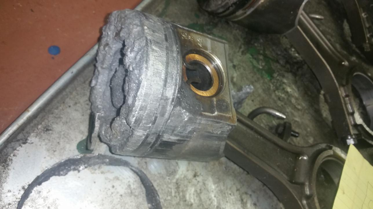 6.0 Melted piston cause - Ford Powerstroke Diesel Forum