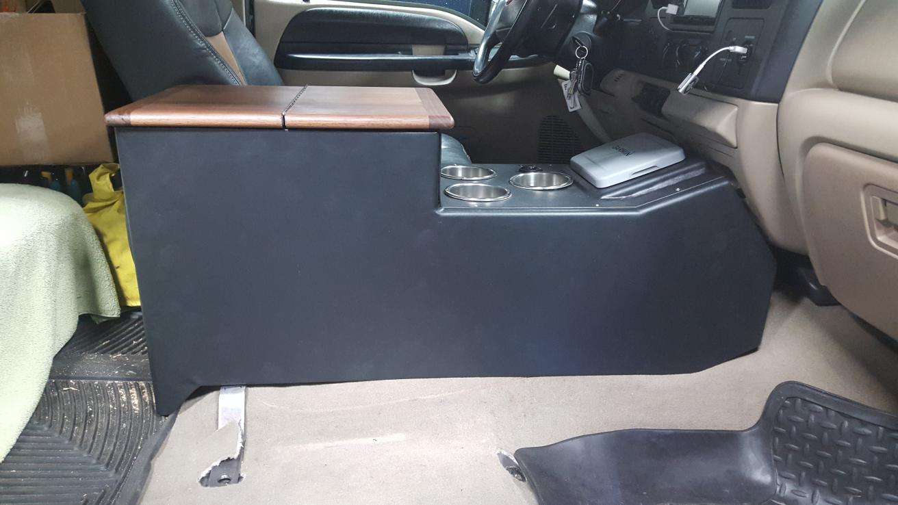 My custom center console - Ford Powerstroke Diesel Forum