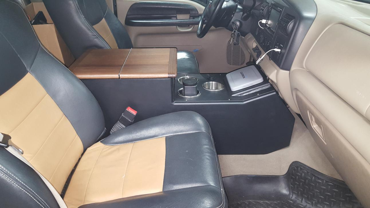 My Custom Center Console Ford Powerstroke Diesel Forum