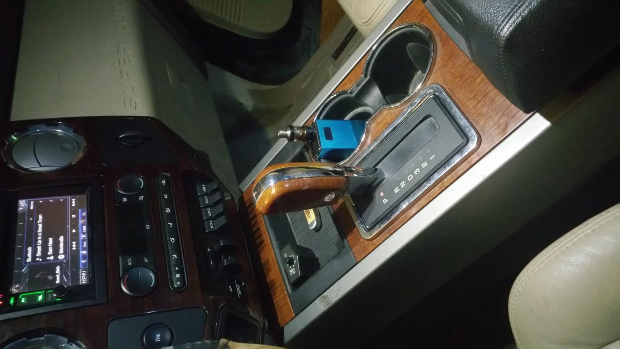 Lifted Ford Expedition >> Expedition center console/shifter installed! - Ford ...