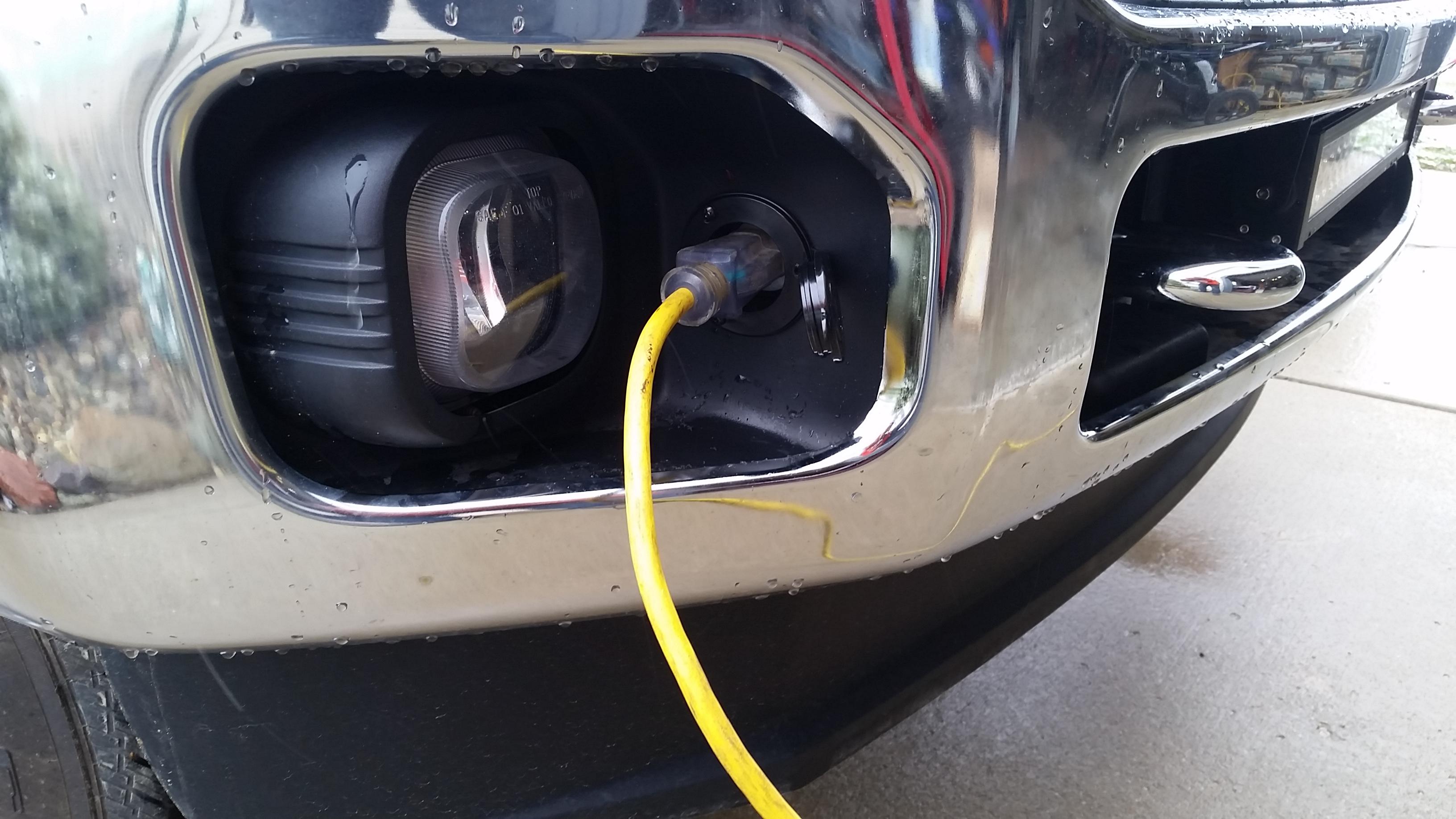 Block Heater Inlet Plug Ford Powerstroke Diesel Forum
