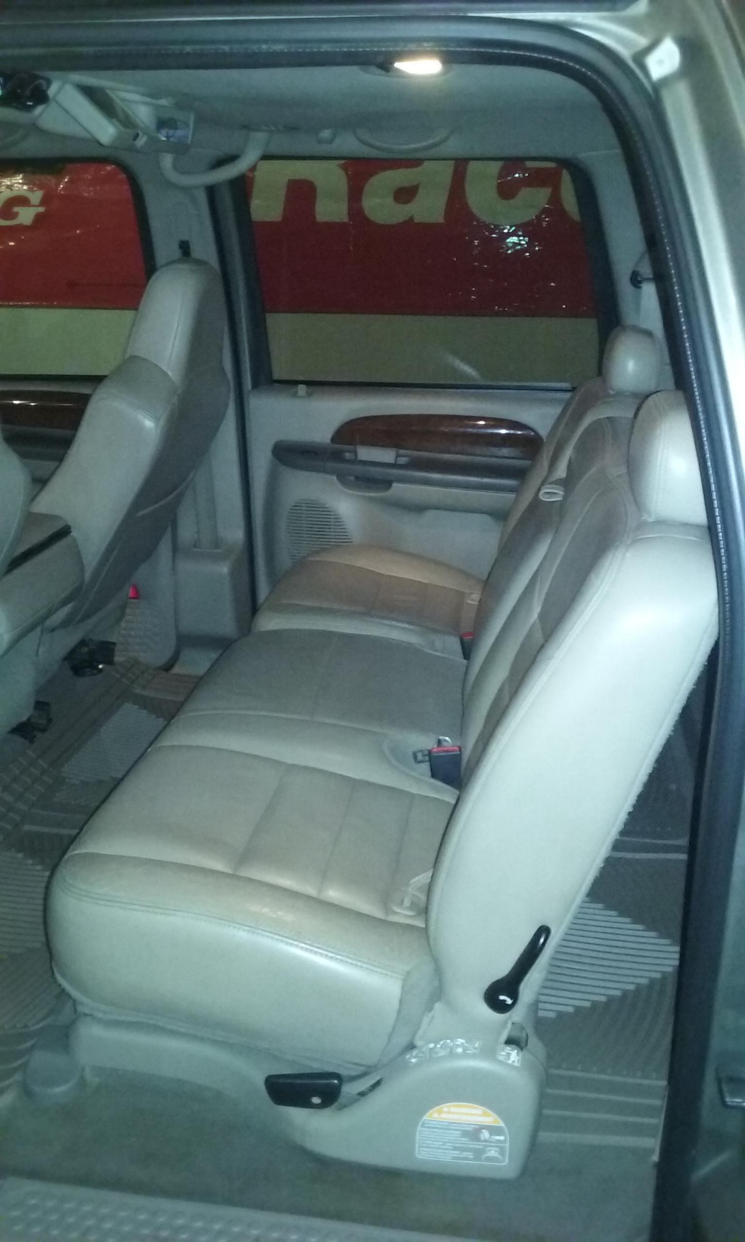 Seat swap - Ford Powerstroke Diesel Forum