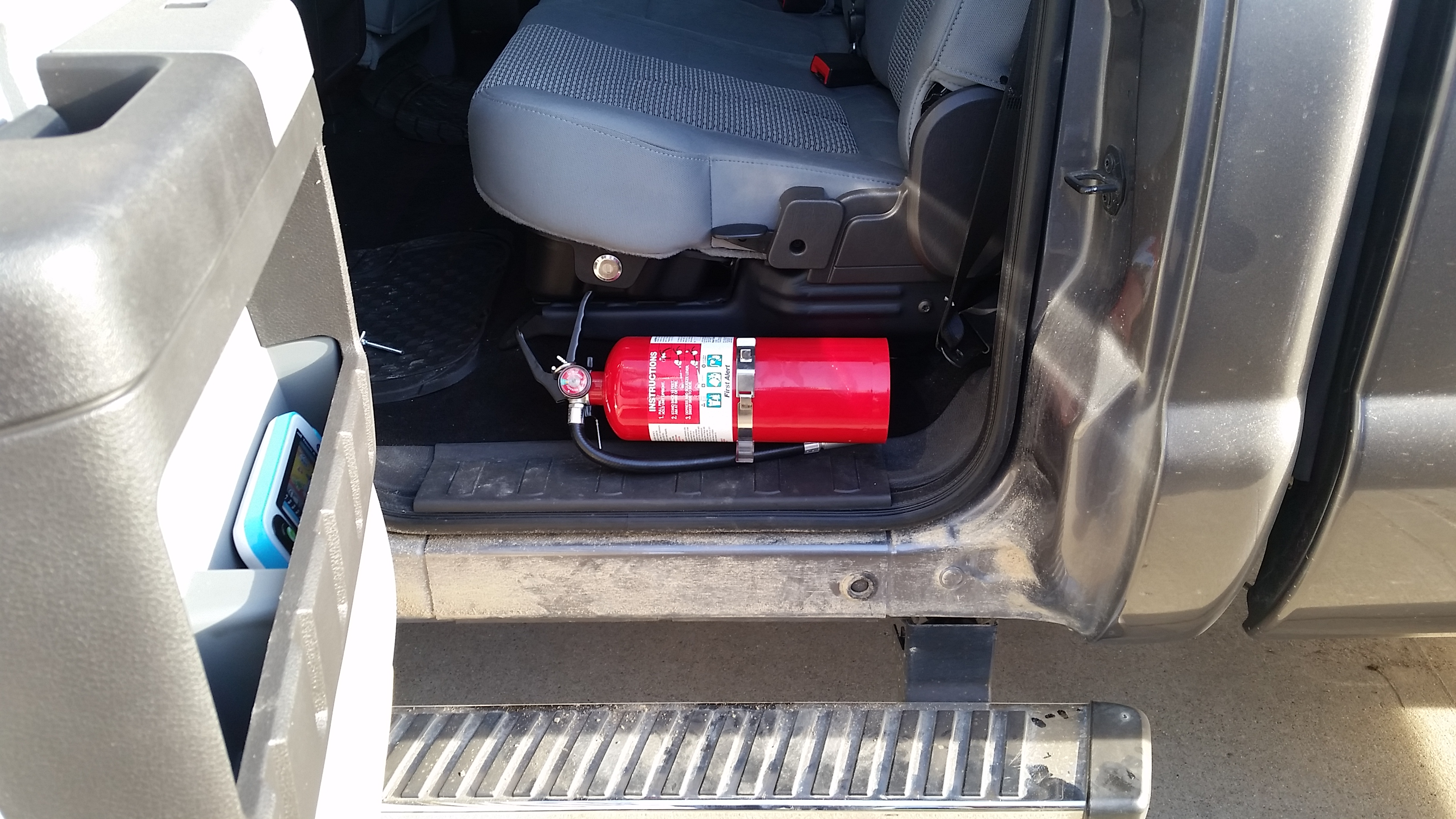 D Fire Extinguisher Mounting Locations