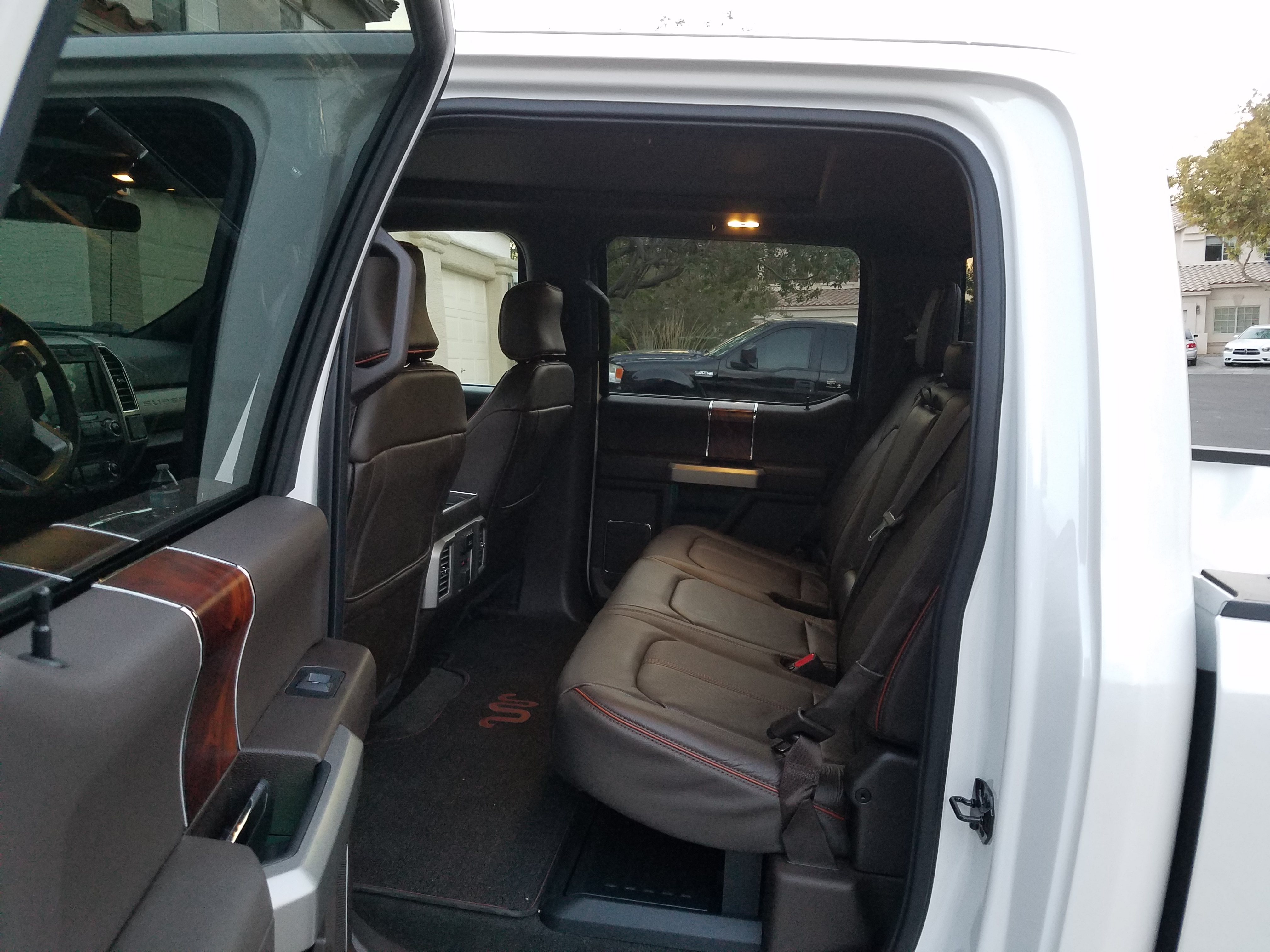 hansen advertisements truck interior in seats my wesley ranch leather king img