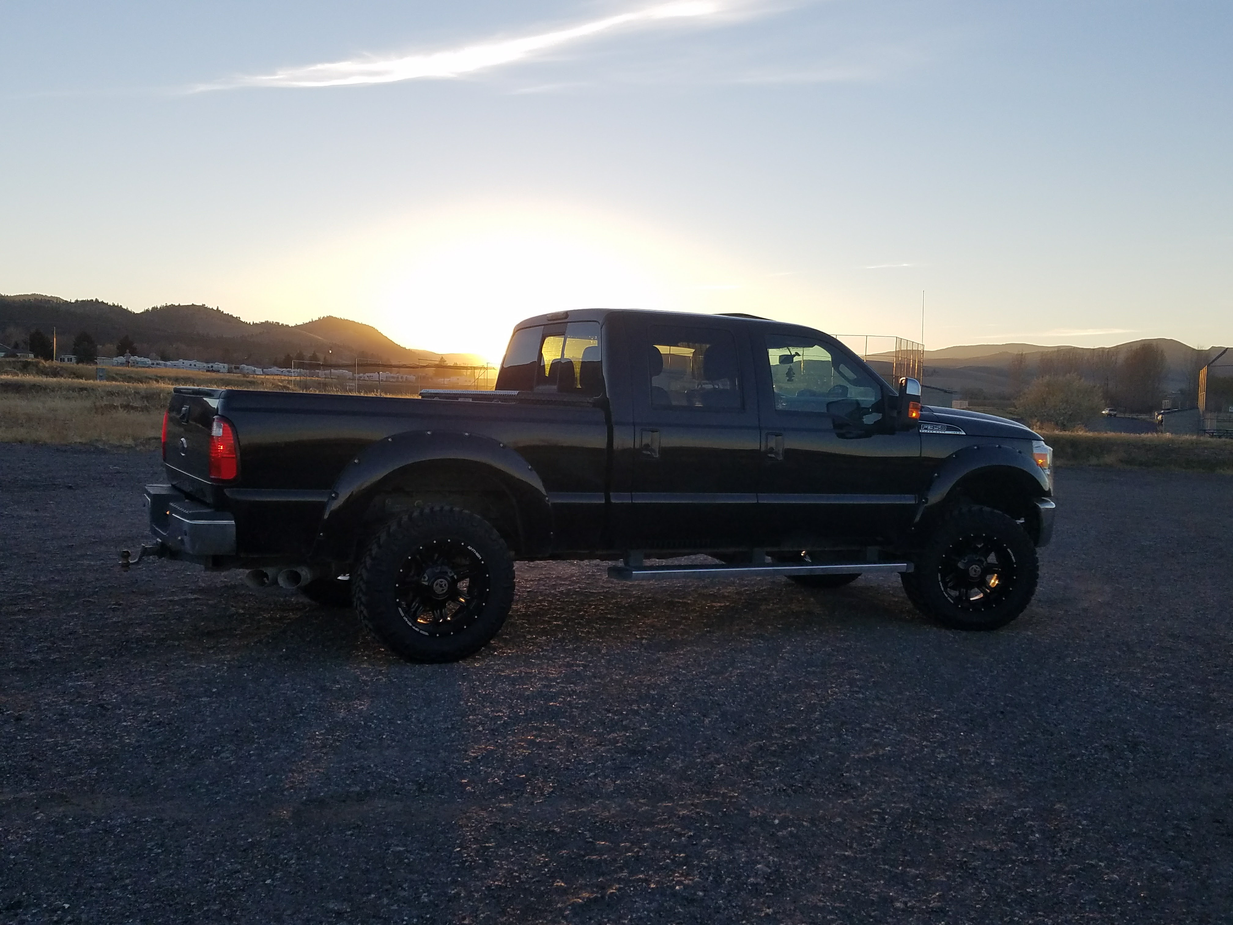 35 s fit on a stock f250 Ford Powerstroke Diesel Forum