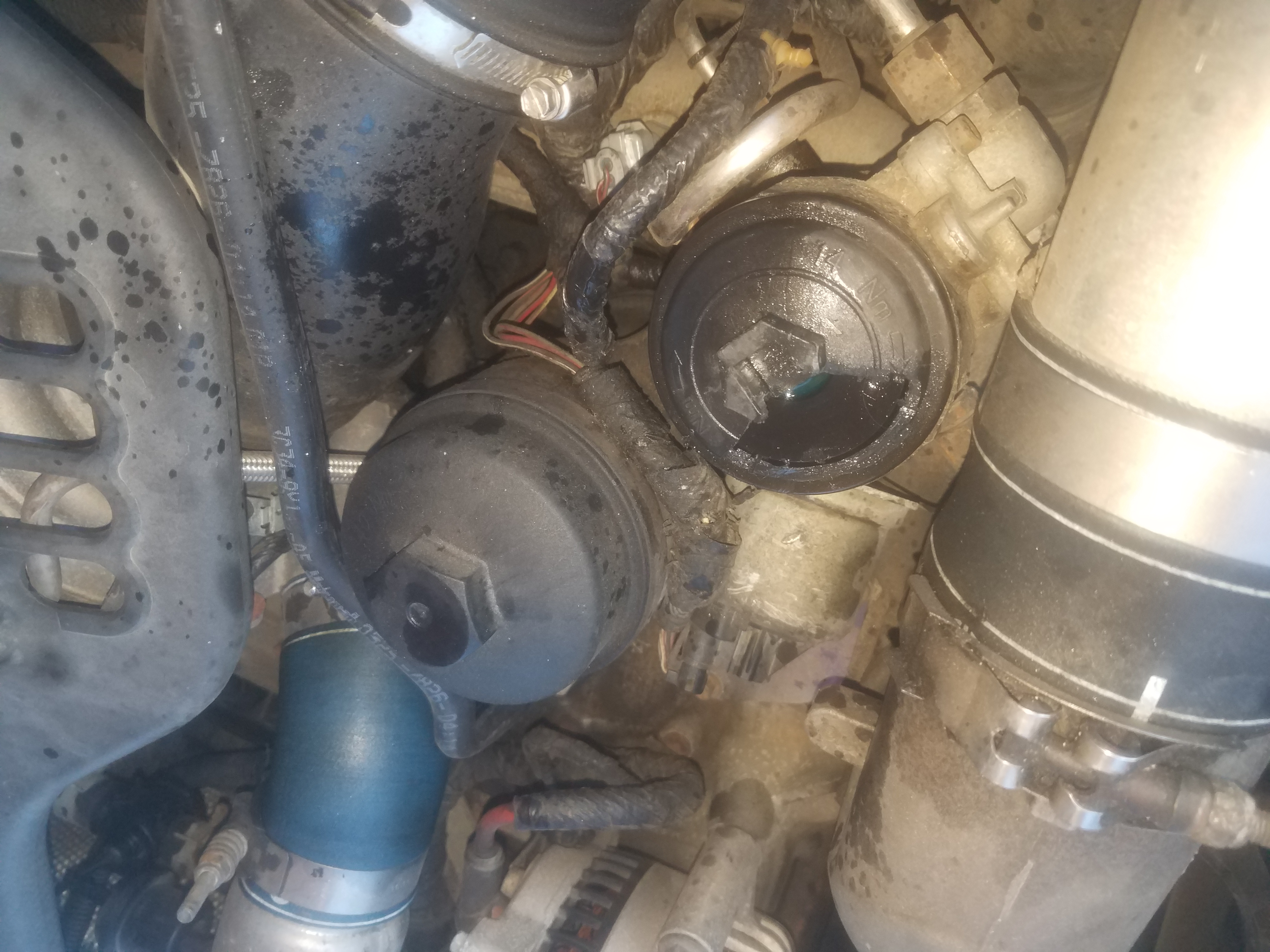 Fuel Filter Cap Broken Help Getting It Off Ford Powerstroke 2003 6 0 Filters Click Image For Larger Version Name 20171227 160204 1514412495325 Views 140 Size 309
