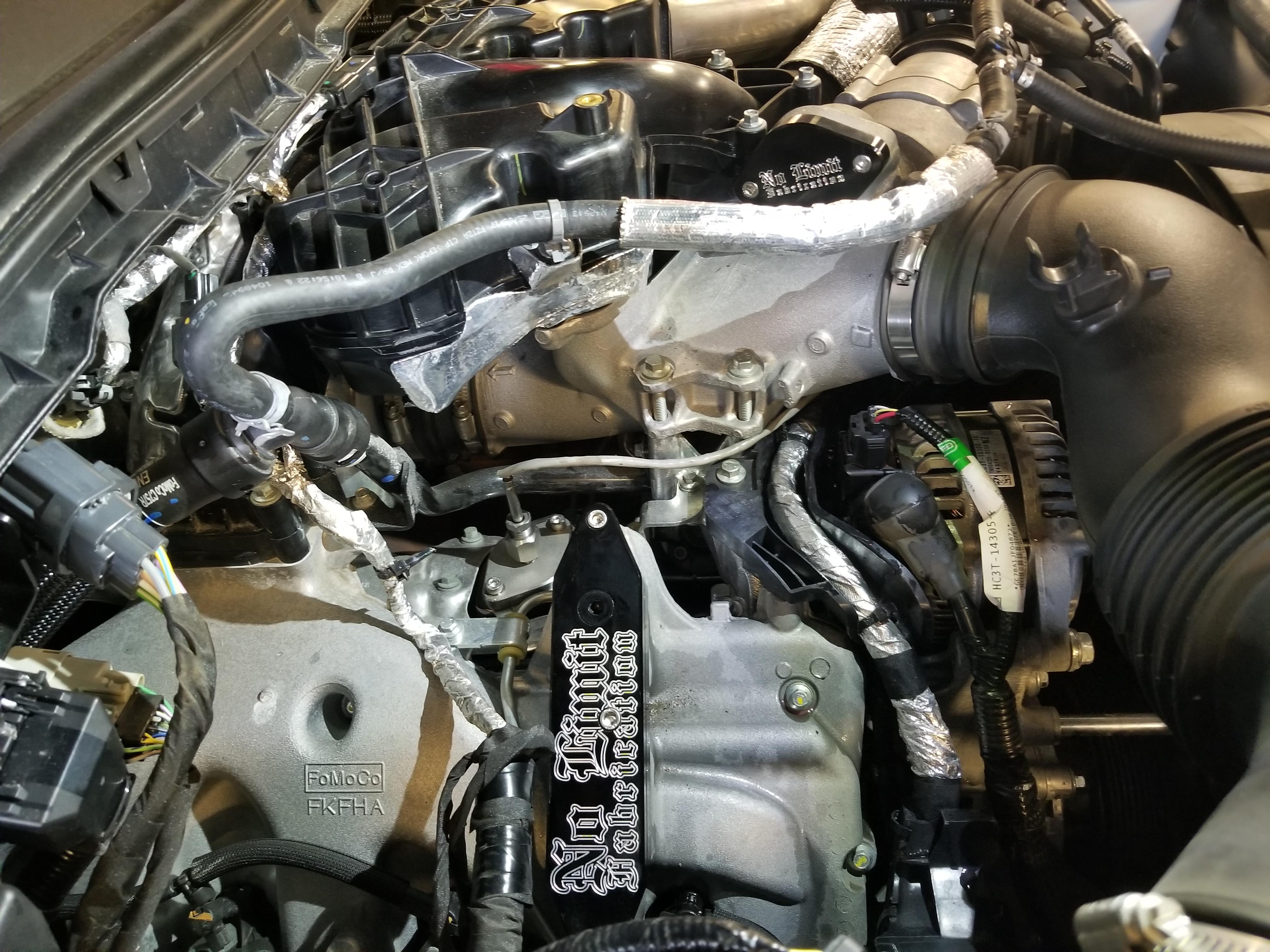 Egr Delete Kit >> 2017 F350 6.7 Platinum. EGR, DPF Delete - Ford Powerstroke ...