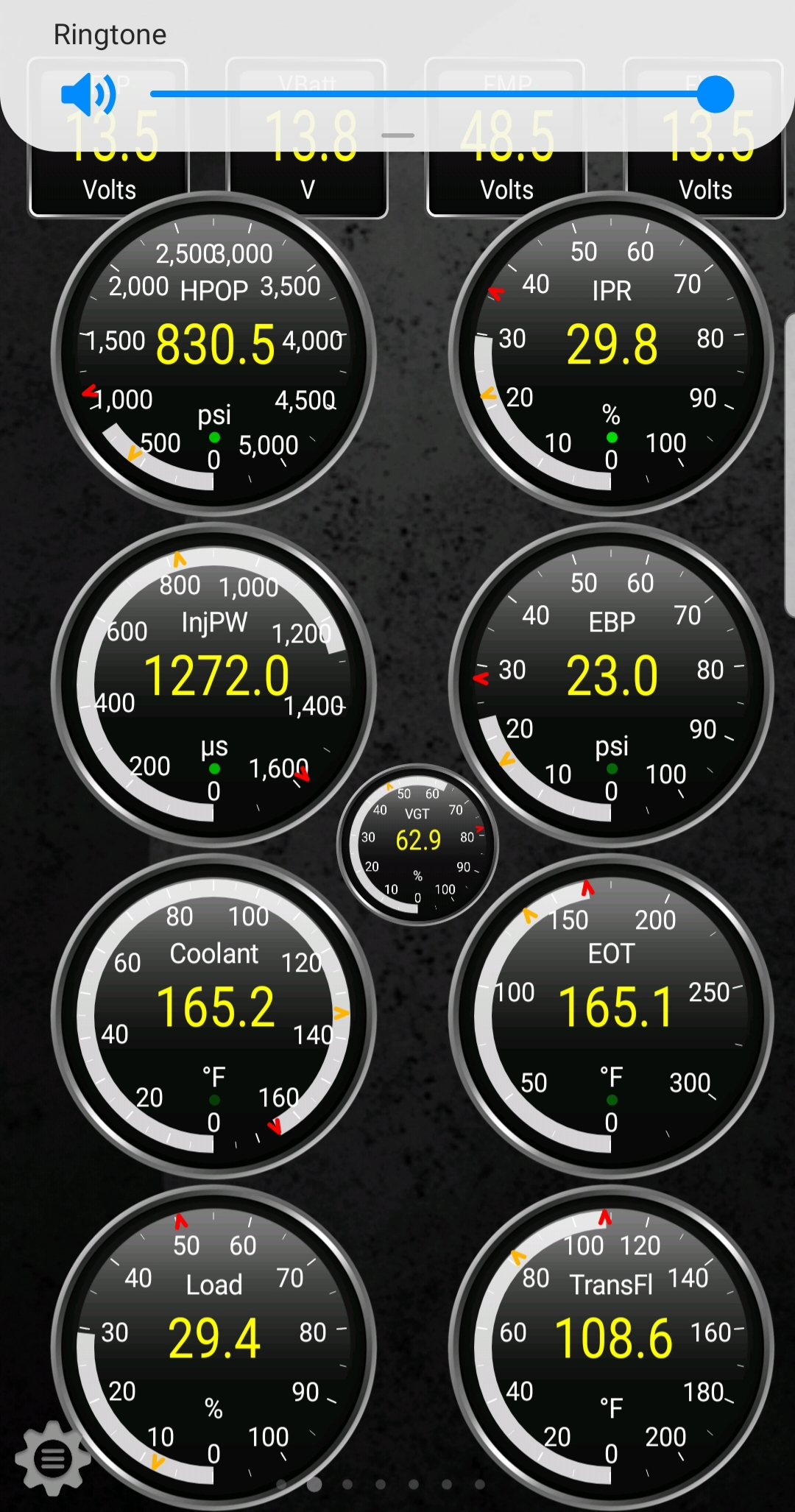 Dialoge question reading on Torque pro - Ford Powerstroke