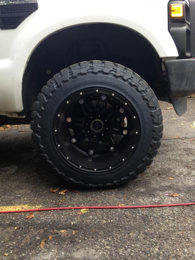 What Are Wheel Spacers >> 35x12.50r20 Toyos 20x14 wheels leveled only!!! - Ford Powerstroke Diesel Forum
