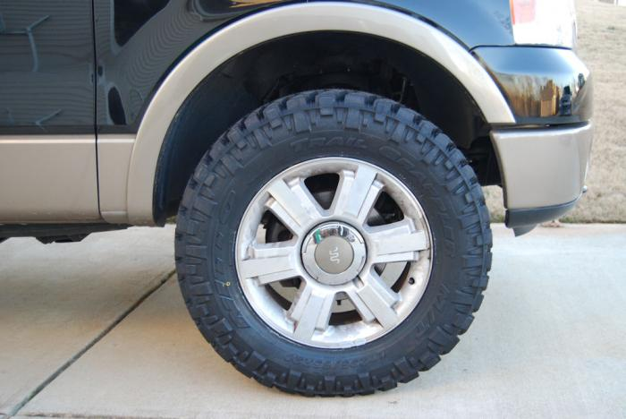 Ford F150 Oem Wheels >> Nitto Trail Grapplers - Photos and Progress Report? - Page ...