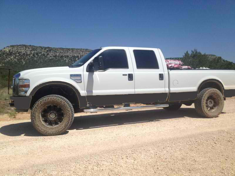 Paint The Lower Gold Two Tone Portion Black Ford Powerstroke Diesel