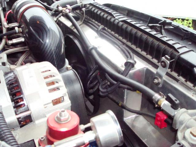 Flex A Lite 274 Electric Fans Verses Stock Ford Powerstroke Diesel Forum
