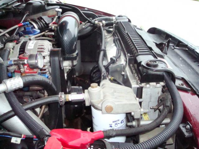 Flex A Lite 274 Electric Fans Verses Stock Ford