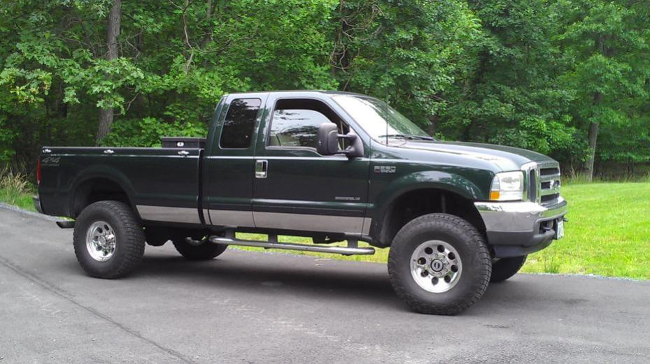 "Ford 7.3 L Diesel >> leveling kit or 4"" lift? - Ford Powerstroke Diesel Forum"
