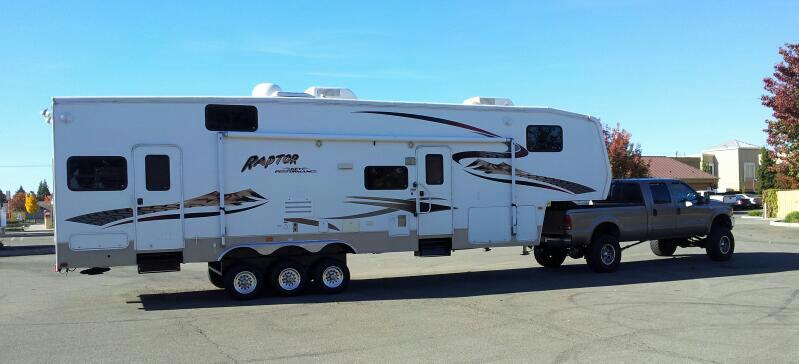 Fifth Wheel Lift Kits : Towing th wheel with lifted truck chevy and gmc duramax