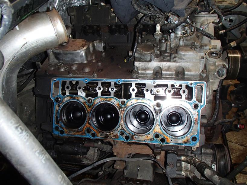 Blown Head Gaskets Even After Studs And Oem Gaskets Ford
